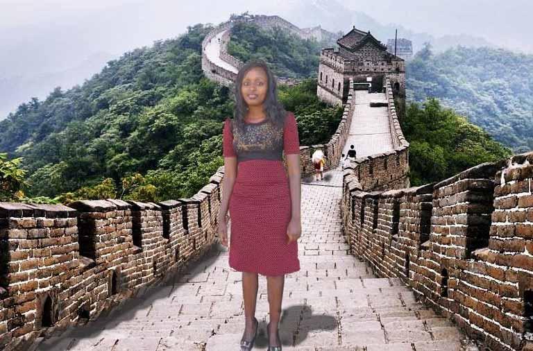 Esta chica viajó a China con Photoshop, luego se hizo viral y pasó esto