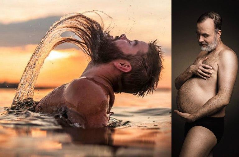 Hombres parodian fotos típicas de las mujeres y el resultado es increíble